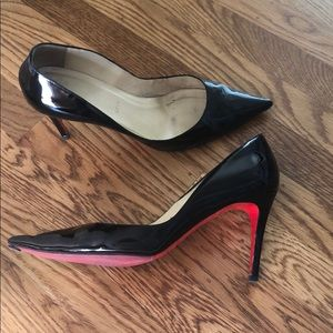 Patent leather Christian Louboutin pumps